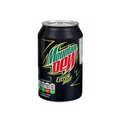 Mountain Dew Citrus Soda Can 330 ml