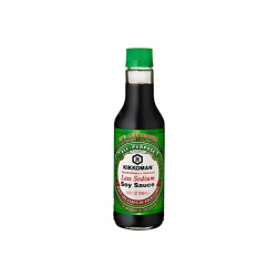 Kikkoman Less Sodium Soy Sauce 296 ml