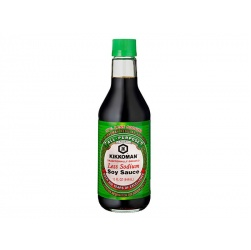 Kikkoman Less Sodium Soy Sauce 444 ml