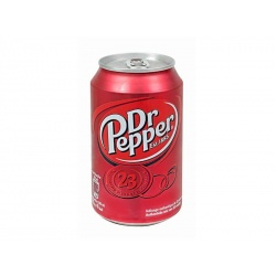 Dr Pepper Soft Drink Can 330 ml