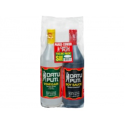 Datu Puti Vinegar and Soy Sauce Value Pack 1L+1L