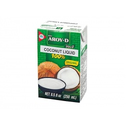 Aroy-D Coconut Liquid - No Preservative 250 ml