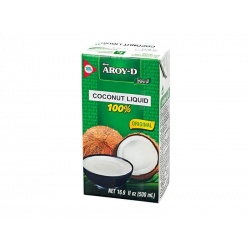 Aroy-D Coconut Liquid (No Preservatives) 500 ml