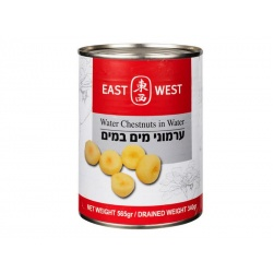 East West Water Chestnuts in Water 565g